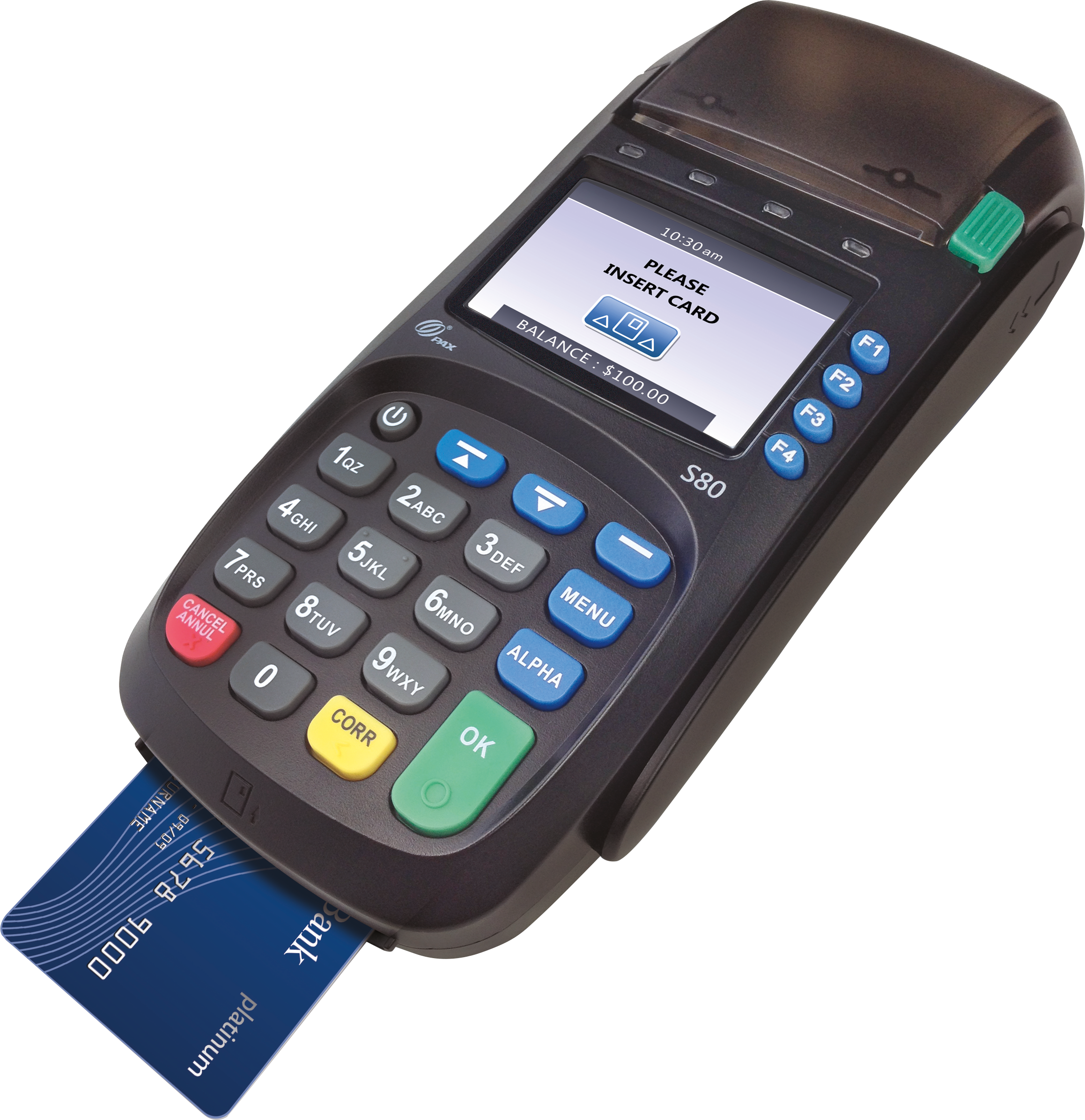 PAX S80 Counter Top Payment Terminal | Mersatech LLC